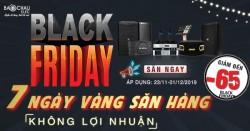 Đại tiệc khuyến mãi Black Friday – giảm giá Siêu Sốc dàn xem phim nghe nhạc