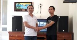 Dàn karaoke Alto cho gia đình anh Quỳnh ở Hải Dương (Alto AT2000, SAE CT6000, DSP-9000, BCE UGX12)