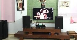 Dàn karaoke Alto của gia đình anh Kỳ ở Đông Sơn, Thanh Hóa (Alto At2000, 9200 Bluetooth, SAE Lexpro PXM7, UGX12 Luxury)
