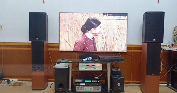 Dàn karaoke Alto của gia đình anh Tùng ở Gò Vấp (Alto AT1000, SAE TX800, X5 Plus, U900Plus New)