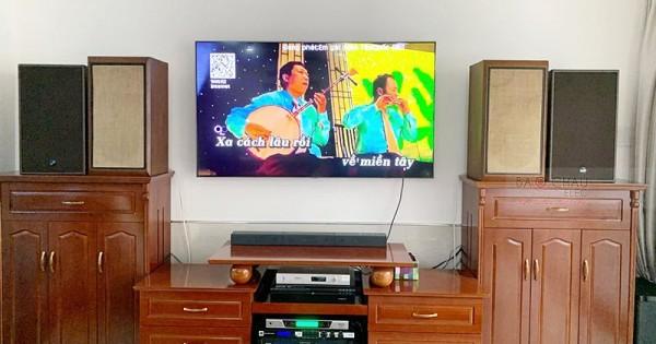 Dàn karaoke Alto cực hay cho gia đình anh Hiền ở Ninh Kiều (Alto BLS12+, Alto AT700, JBL KX180, BCE UGX12, Plus 4TB)