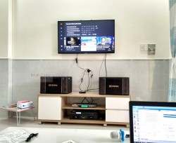 Dàn karaoke BIK cho gia đình anh Dũng ở Hooc Môn (BIK BJ-S768, SAE CT3000, X5 Plus, BCE U900Plus New)