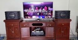 Dàn karaoke BIK cho gia đình anh Thuyết ở Thái Nguyên (BIK 668, TX650Q, BFAudio K6, BCE UGX12)