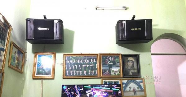 Dàn karaoke BIK cho gia đình anh Tú ở Quế Võ, Bắc Ninh (BIK 968, SAE CT6000, DSP-9000, BCE UGX12)