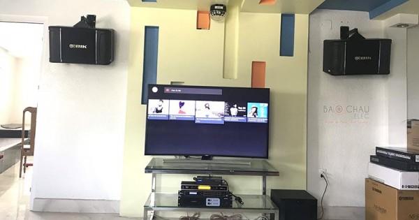 Dàn karaoke chính hãng cho gia đình anh Dũng ở Long An (BIK 968, NS-SW300, Famous 3208, DSP-9000, UGX12 Gold, Hanet 1TB)