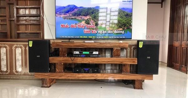 Dàn karaoke Domus cho gia đình anh Hè ở Thanh Hóa (Domus 6120, AAP TD8004, BCE DP9200+, BCE UGX12)