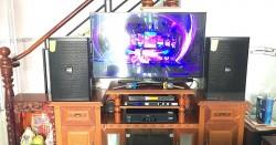 Dàn karaoke Domus cực hay cho gia đình anh Trình ở Biên Hòa (Domus DP6120, Alto At700, JBL KX180, BCE UGX12 Plus)