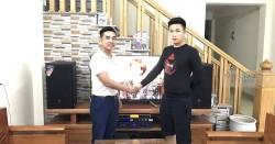Dàn karaoke JBL cao cấp cho gia đình anh Nam ở Thanh Hóa (JBL MTS12, Crown T7, JBL KX180, UGX12 Gold)