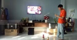 Dàn karaoke JBL cho gia đình anh Huy ở Đà Nẵng (JBL RM10II, NS-SW100, 203 Gold Bluetooth, Jarguar 305)