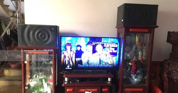 Dàn karaoke JBL cho gia đình anh Huynh ở Bắc Ninh (JBL MK10, SAE TX800, DSP-9000, U900 Plus New)