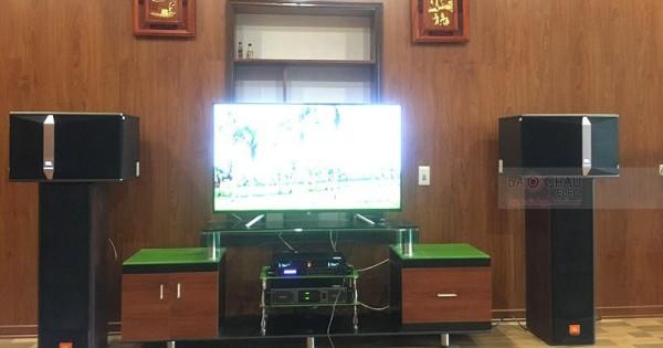 Dàn karaoke JBL cho gia đình anh Thịnh ở Thuận Thành (JBL Ki512, Lexpro PXM7, DSP9000, EU900MH Black)