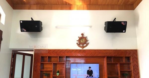 Lắp đặt dàn JBL cao cấp cho gia đình anh Hội ở Bắc Giang (JBL MTS12, Crown T7, JBL KX180, JBL VM300)