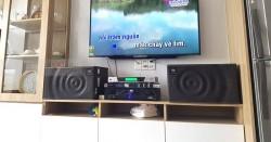 Lắp đặt dàn karaoke JBL gia đình chị Út ở Quận 7 (JBL MK10, BF Audio J500, JBL KX180, UGX12 Luxury)