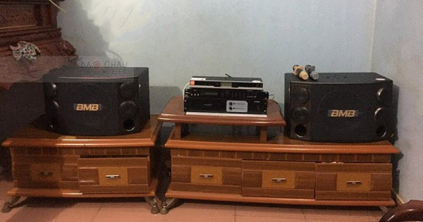 Lắp đặt dàn karaoke cho gia đình anh Nhịp ở Bắc Ninh (BMB 2000C, X5 Plus, Famous 3206, BBS B900)