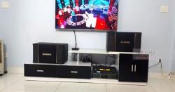 Lắp đặt dàn karaoke cho gia đình anh Vinh ở Đà Nẵng (BIK 968, DSP-9000, Lexpro PXM7, AAP K500)