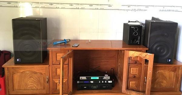 Lắp đặt dàn karaoke JBL cho gia đình anh Trinh ở Biên Hòa (JBL MK12, SAE CT6000, JBL KX180, UGX12 Luxury)