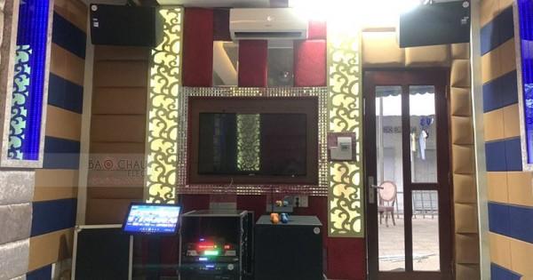 Lắp đặt hệ thống 16 phòng hát karaoke Thảo Nguyên (AT2000, AT1000, TD8004, SX18+, DP9200, UGX12, Plus 4TB, 21 inch)