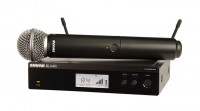 Micro Shure BLX24RA/PG58 (1 micro)