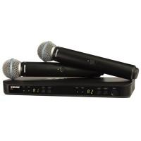 Micro Shure BLX288A/B58 (2micro)