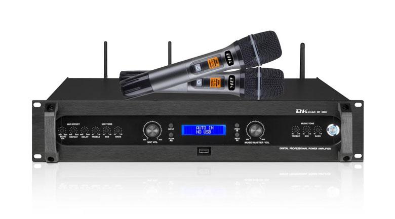 Đẩy liền vang kèm micro không dây BKsound DP6000