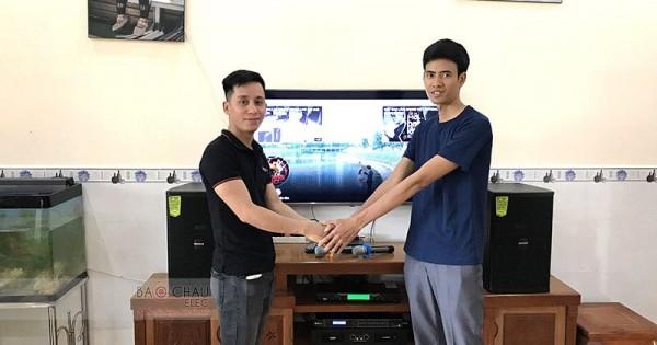 Bộ dàn karaoke Domus của gia đình anh Chí ở Biên Hòa (Domus DP6100, SAE CT3000, DSP-9000, U900 PlusX)