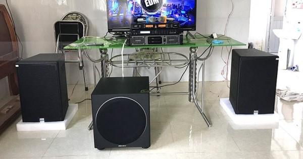 Dàn karaoke Alto cho gia đình anh Duy ở Trảng Bom (Alto AT2000, Paramax 1000, Lexpro PXM5, X5 Plus, AAP K500)