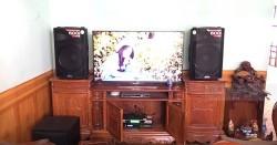 Dàn karaoke Alto của gia đình anh Chương ở Biên Hòa (Alto TX215, BCE DP9200+, BCE UGX12)