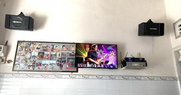 Dàn karaoke BIK cho gia đình anh Tuân ở Vĩnh Long (BIK BJ-S886, SAE TX800, DSP-9000)