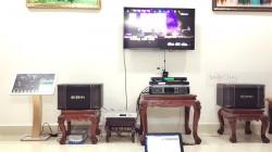 Dàn karaoke BIK của gia đình anh Tại ở quận 12 (BIK BJ-S768, SAE Lexpro PXM5, X5 Plus, U900 PlusX, Plus 4TB)