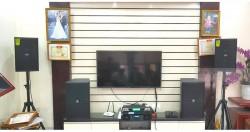 Dàn karaoke cao cấp cho gia đình anh Tâm ở Thạch Thất (JBL 4012, Domus 6100, AAP TD8004, X5 Plus, BCE UGX12)