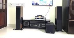 Dàn karaoke cao cấp cho gia đình chú Thuận ở Vũng Tàu (Paramax D88, NS-SW300, JBL KAR3502, UGX12 Gold, Hanet 1TB)