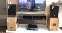 Dàn karaoke JBL cao cấp cho gia đình anh Tuấn ở Biên Hòa (JBL MTS10, Alto MP2500, JBL KX180, JBL VM300)