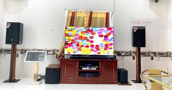Dàn karaoke JBL cao cấp của gia đình anh Sáng ở Hậu Giang (JBL MTS12, Jamo J12, AAP TD8004, JBL KX180)