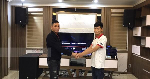 Dàn karaoke JBL siêu VIP cho gia đình anh Tâm ở Cẩm Phả (PRX412M, Alto SX18+, Crown T7, Famous 7208, BCE 9200+, JBL VM300)