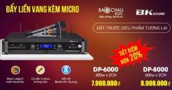 Đặt hàng trước – Nhận ưu đãi giảm giá trên 40% - Cục đẩy liền vang kèm micro không dây BKsound