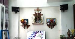Lắp đặt dàn karaoke Bose cho gia đình chị Trang ở Gò Vấp (301 seri 5, SAE TX800, X5 Plus, AAP K500)