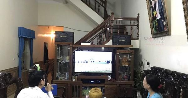 Dàn BIK cực hay cho gia đình anh Đức Anh ở Nông Cống, Thanh Hóa (BIK 668, BKsound DP6000)