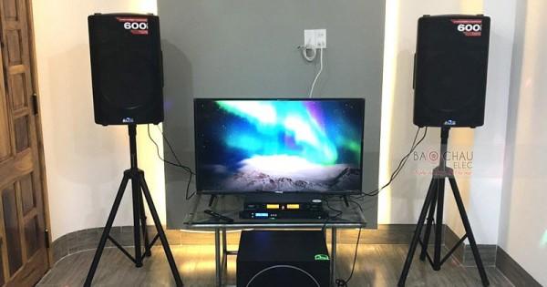 Dàn karaoke Alto cho gia đình anh Điệp ở Quảng Nam (Alto TX215, Paramax 1000, FX 9MK, AAP K500)