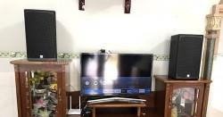 Dàn karaoke Alto của gia đình anh Nam ở Long Thành, Đồng Nai (Alto AT1000, BKsound DP3500, AAP K500)