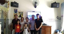 Dàn karaoke BIK của gia đình anh Mạnh ở Quận 12 (BIK BQ-S63, Bksound DP-3500, BCE UGX12)