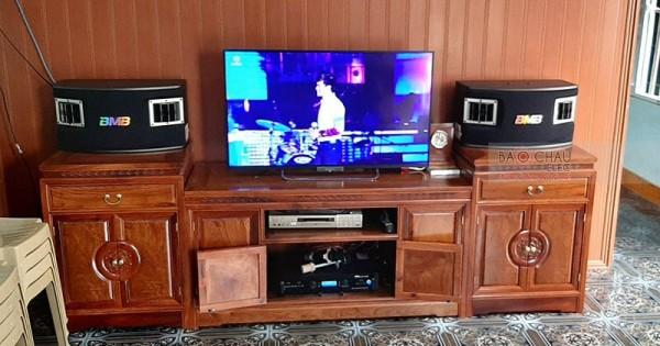 Dàn karaoke BMB cho gia đình anh Tùng ở Hải Dương (BMB 450SE, Bksound DP6000)