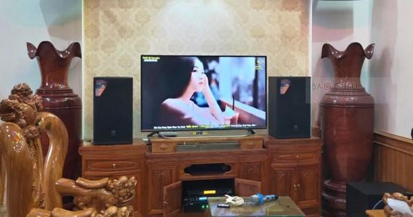Dàn karaoke cao cấp của gia đình anh Hiền ở Đồng Văn, Vĩnh Phúc (MTS12, 2000SE, Sub 1000, TX800Q,9200 Bluetooth, UGX12 Plus Luxury)