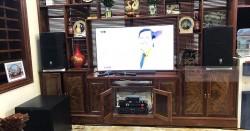 Dàn karaoke JBL VIP cho gia đình anh Ánh ở Yên Lạc, Vĩnh Phúc (PRX412M, SPL 150, Xli2500, JBL KX180, JBL Vm300)