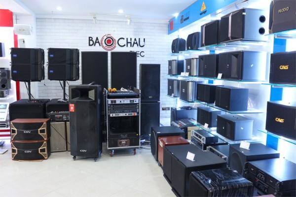 Địa chỉ cung cấp thiết bị âm thanh chính hãng tại Bắc Giang