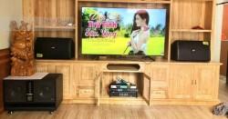 Lắp dàn karaoke Domus cho gia đình anh Nhiên ở Bắc Ninh (Domus 6120, W66 Plus, SAE 3206, BCE 9200, UGX12 Luxury)