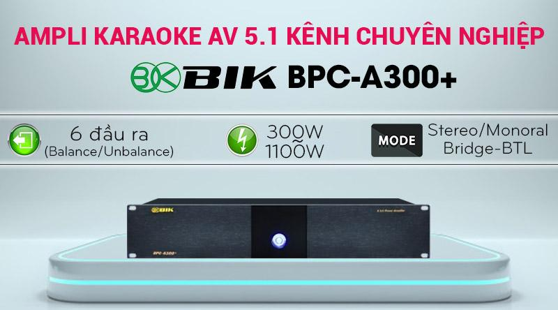 Cục đẩy công suất 5 kênh BIK BPC-A300+