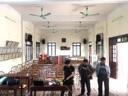 Dàn âm thanh hội trường cho thôn Tử Nê, Bắc Ninh (Domus 6120, Pro 1.5, SX18+, TX800Q, Q8, DMX-DK6000 Pro, UGX12)