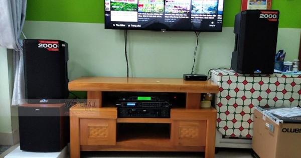 Dàn karaoke Alto cho gia đình chú Sơn ở Quận 12 (Alto TS310, Jamo J10, DSP 9000, U900 PlusX)