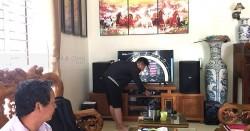 Dàn karaoke BIK gia đình anh Luận ở Mê Linh, Hà Nội (BIK BSP 412, BKsound DP8000)