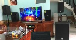 Dàn karaoke cao cấp cho gia đình anh Quân ở Bắc Ninh (Alto AT1000, DP6100, Alto SX18+, SAE TX800Q, KX180, UGX12)